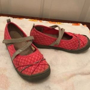 Jumping Beans Girls Velcro May Janes Size 11